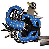 Máquina do tatuagem de escorpião Forma Gun para Shader & Liner (azul)