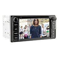 6.2inch 2 DIN universel bil dvd-afspiller til toyota inden 2006 med 3g, wifi, gps, ipod, rds, bt, touch screen