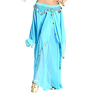 Dancewear Chiffon Belly Dance Skirt For Ladies(More Colors)