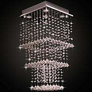 Max 50W צמודי תקרה ,  מודרני / חדיש Electroplated מאפיין for קריסטל מתכת חדר שינה / חדר אוכל