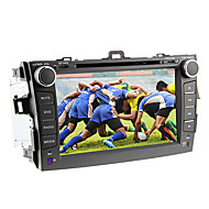 8inch 2 DIN in-dash bil-afspiller til Toyota Corolla 2008-2011 med gps, bluetooth, ipod, rds, touch screen