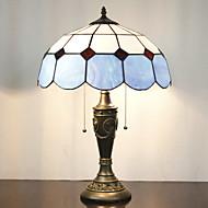 Bordslampa, 2 Svag, Minimalist Tiffany Resin glasmålning