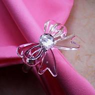 Bow-knot Napkin Ring, Acrylic