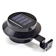Nový 3 LED Solární Gutter dveří plot Nástěnné svítidlo Venkovní zahradní osvětlení (CIS-57208)