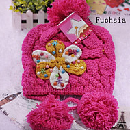 Children's Flower Warmth Hat