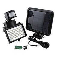 3.6W 420lm Bright Solar Power 60 LED Motion Sensor Security Wall Light Flood Lamp Spotlight