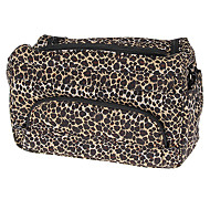Leopard Mønster Large Size Cosmetic Bag