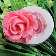 un foro di fiori in resina strumenti artigianali zucchero stampi stampo in silicone fiore fondente stampo per torte