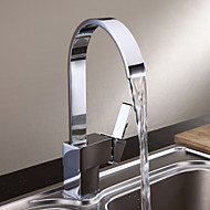Sprinkle® Kitchen Faucets  ,  Modern  with  Chrome Single Handle One Hole  ,  Feature  for Centerset