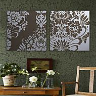 Canvastaulu taide Kukat kukkakuvio Set of 2