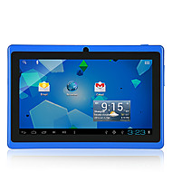Tablet WiFi 7.0 (Azul, 4GB de Rom, Android 4.4, Cámara Dual)