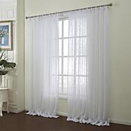 país dois painéis floral botânico algodão poli quarto branco misturar tons cortinas diáfanas