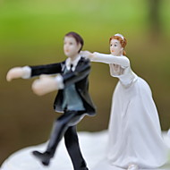 "Cake Toppers ""Don't Try to Break Away From Me"" Resin Figurine  Cake Topper"