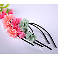 Chiffon Flor Headband da menina
