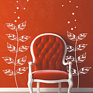 Floral Leaf of Hope Wall Stickers