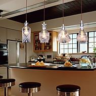 מנורות תלויות ,  וינטאג' מודרני / עכשווי מסורתי / קלסי אי מאפיין for סגנון קטן מתכת חדר אוכל 4 בצלים