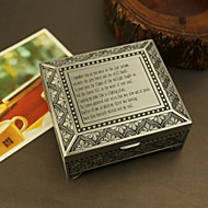 Personalized Tin Alloy keepsake box