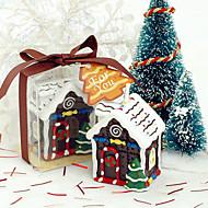 "2 ""H Christmas House Vela Perfumada"