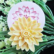 un foro di fiori in resina strumenti artigianali zucchero stampi fiore profondo stampo in silicone fondente stampo per torte