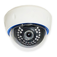 Sinocam® 1.0MP 4mm Onvif P2P IP Dome Camera Support Video Push Optical Zoom In
