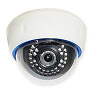 sinocam® 1.0mp 4mm의 ONVIF의 P2P IP 돔 카메라 지원 비디오에 광학 줌을 밀어