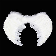 Carnival White Angel's Feather Wings