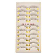 Transparent Base Hand-made False Upper Eyelashes 218