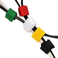 מחזיקי כבלים גאוניים (6pcs)
