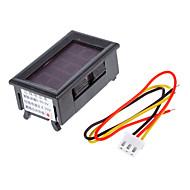 V099 0-99.9V Tre-Wire Strømforsyning 4,0-30V Digital / Digital Voltmeter Hovedbøjle polaritet