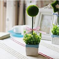 Polyester Planter Kunstige blomster