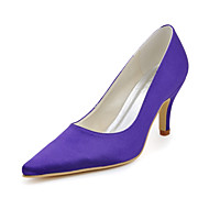 Women's Wedding Shoes Heels Heels Wedding Black/Blue/Yellow/Pink/Purple/Red/Ivory/White/Silver/Gold