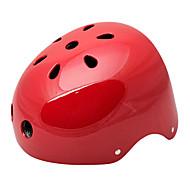 MOON vélo rouge ABS / EPS adulte 11 Vents polyvalent Casque (taille L)