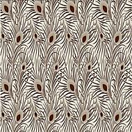 Art Deco Tapete Für Privatanwender Klassisch Wandverkleidung , Geflockter Samt Stoff Klebstoff erforderlich Tapete , Zimmerwandbespannung