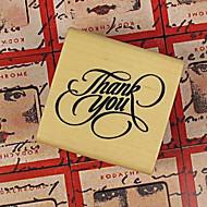 """Art Fuente """"Gracias"""" Stamper Madera"""