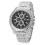 Men's Watch Fashion Dress Watch Alloy Band Wrist Watch Cool Watch Unique Watch