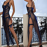 G World 3pc Sexy Bachelorette Dress. Night Blue Women's Lingerie Sexy Uniform