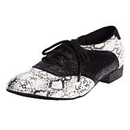 Férfi Metal Snake Oxford Stílus Modern Dance Shoes
