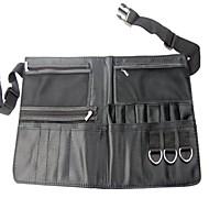 Qualitäts-Schwarz-Multifunktions-Make-up Pinsel Polyester Taille Beutel