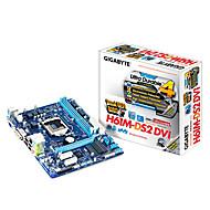 GIGABYTE GA-H61M-DS2 DVI LGA1155 / Intel H61 / DDR3 / & GbE / MicroATX האם