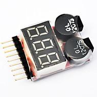 Lipo Battery Voltage Tester Low Voltage Buzzer Alarm