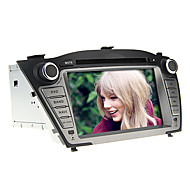7 polegadas 2 DIN no painel do carro DVD Player para Hyundai IX35 2009-2013 com GPS, BT, IPOD, RDS, tela de toque