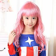 100% Kanekalon Synthetic Full Bang Lovely Children's Wig for Festival Party