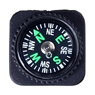 Outdoor Survival Mini Kompass med PU Leather Watch Attachment Design