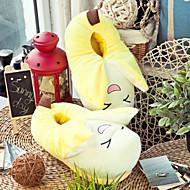 Creative Yellow Banana Wool Naisten Slide Slipper