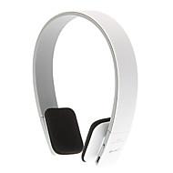 bluetooth para auriculares de 3.5mm v3.0 + EDR sobre los oídos de control de volumen deportes stereohi-fi para el iphone / android (blanco)