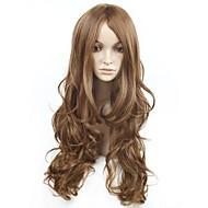 האופנה שיער ארוך מפץ קרלי פאה שיער