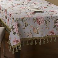 Multicolore 100% Coton Rectangulaire Nappes de table