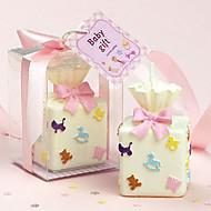 선물 상자 모양의 캔들 (색상 선택)