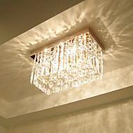 Kristal inbouw, 3 Licht, Dainty Metaal Glas Electroplating