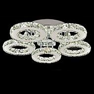 Montagem do Fluxo ,  Moderno/Contemporâneo Galvanizar Característica for Cristal Metal Sala de Estar Quarto Sala de Jantar 1 Lâmpada